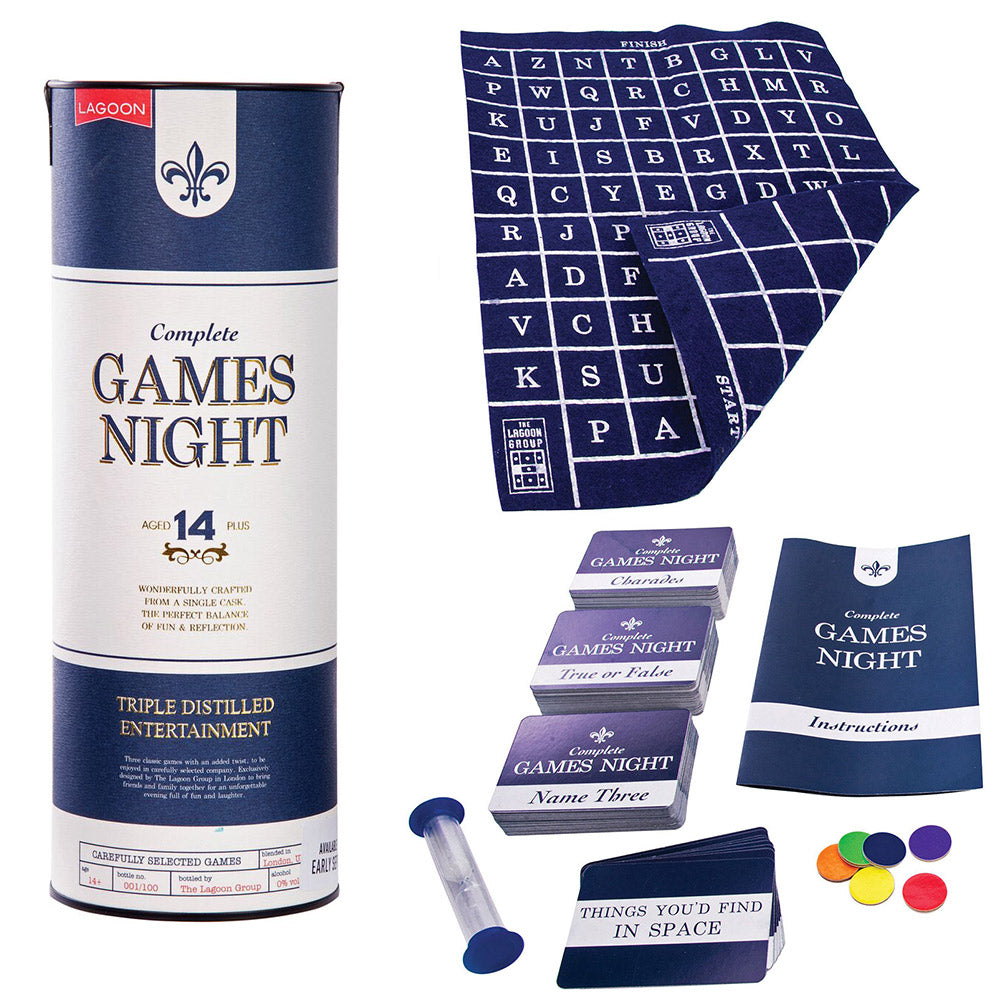 Complete Games Night Gift Tin