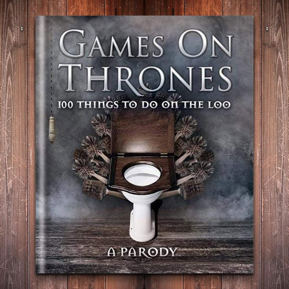 Games on Thrones: 100 Things To Do On The Loo - - Octopus Books - Yellow Octopus