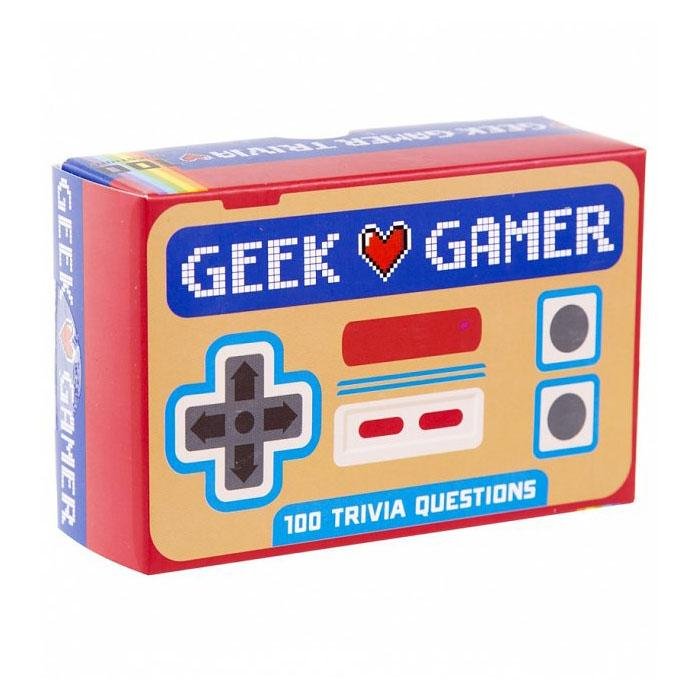 Geek Gamer Trivia - - Gift Republic - Yellow Octopus