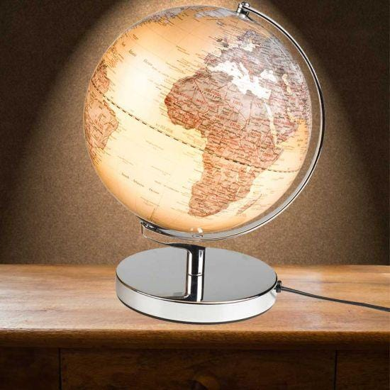 Gentlemen's Hardware 25cm LED Globe Lamp - - Gentlemen's Hardware - Yellow Octopus
