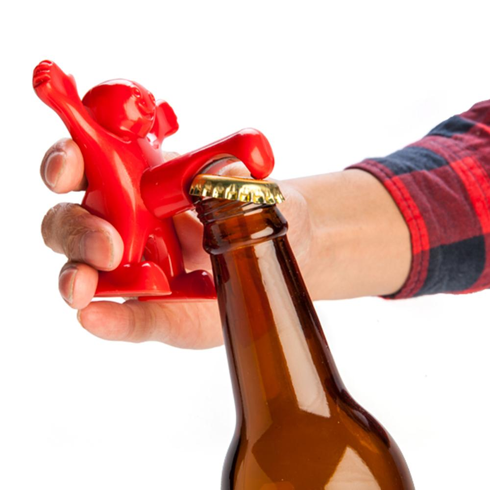 Happy Man Bottle Opener - - mdi - Yellow Octopus