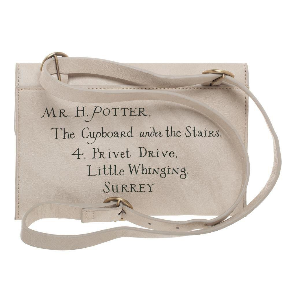 Harry Potter Hogwarts Letter Belt Bag - - Harry Potter - Yellow Octopus