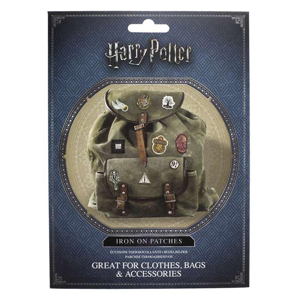 Harry Potter Iron-On Transfer Patches Pack of 14 - - Harry Potter - Yellow Octopus