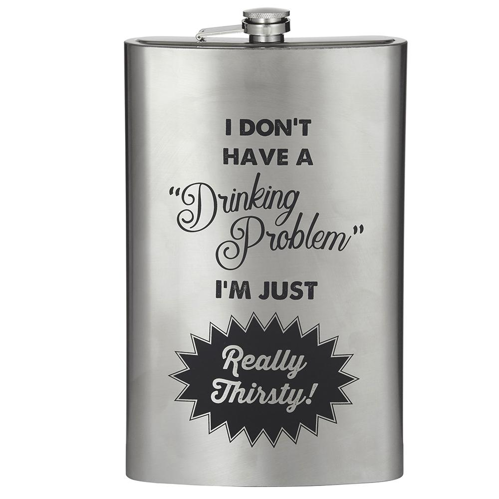 I Don't Have A Drinking Problem Giant Novelty Flask 1.5L