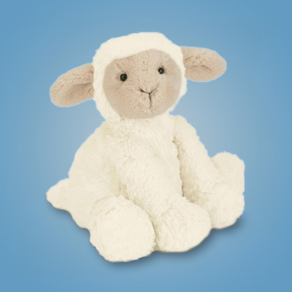 Jellycat Medium Fuddlewuddle Lamb - - JellyCat - Yellow Octopus