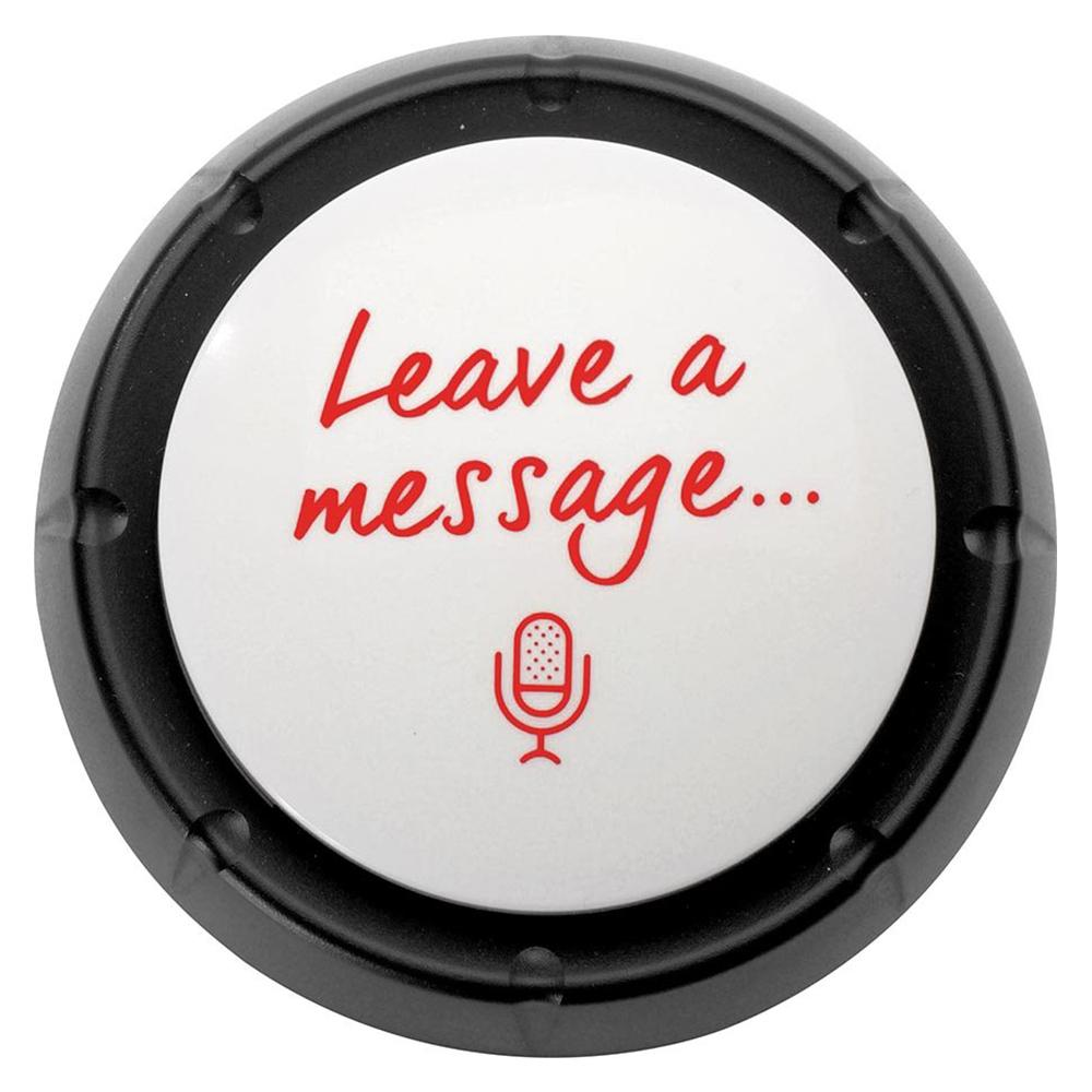 The 'Leave a Message' Button: Record Your Own Message