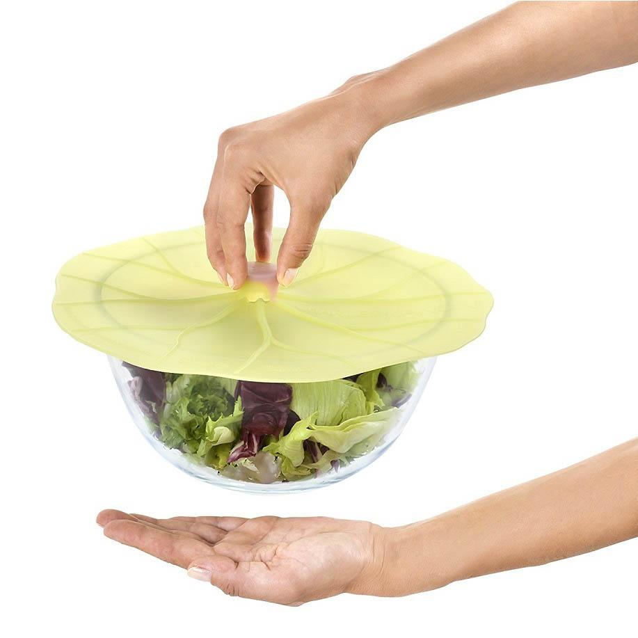 Lilypad Silicone Bowl & Saucepan Lid | Couvercle