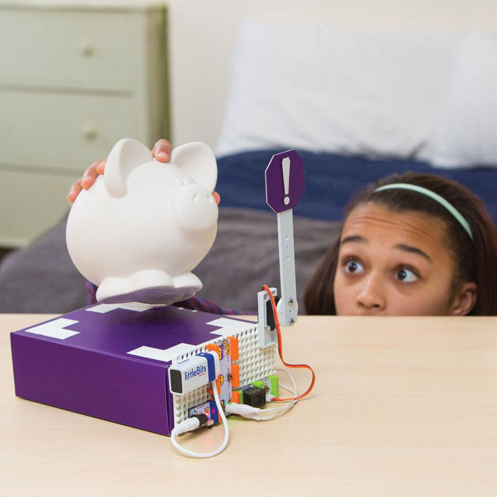 littleBits Rule Your Room Electronic Inventions Kit - - littleBits - Yellow Octopus