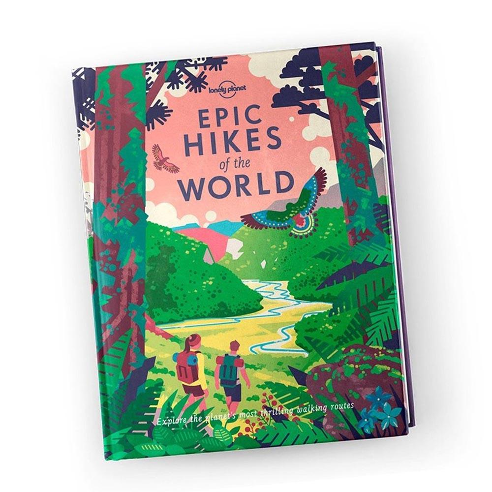 Lonely Planet Epic Hikes of the World Book - - Lonely Planet - Yellow Octopus