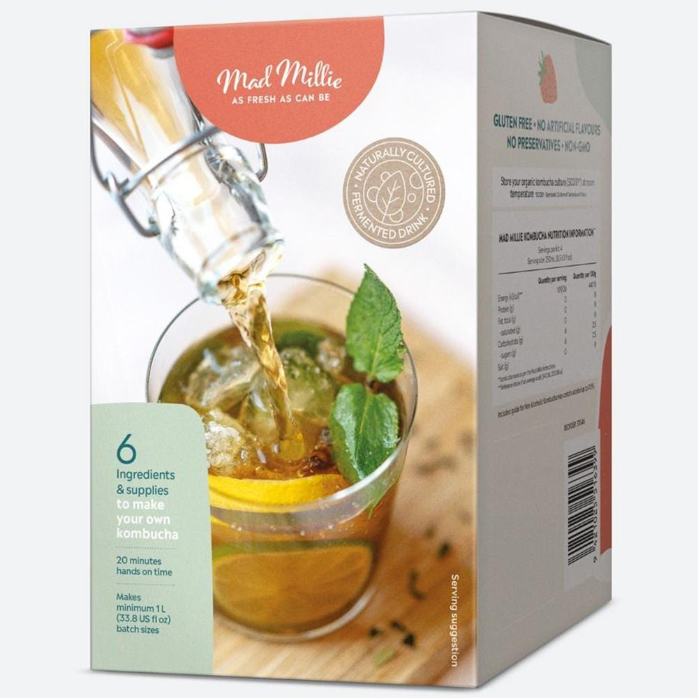 Mad Millie DIY Kombucha Kit - - Mad Millie - Yellow Octopus