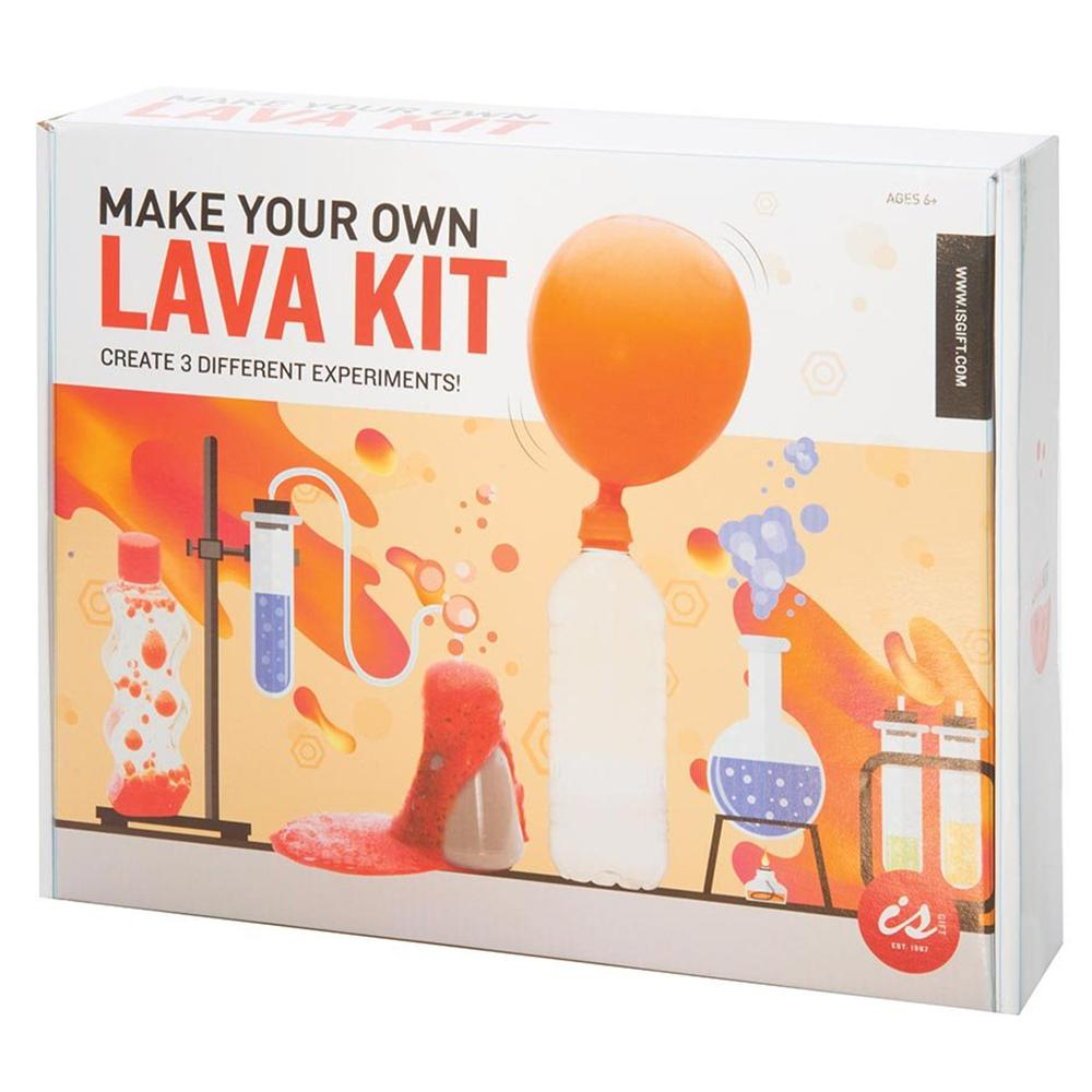 Make Your Own Lava Kit: 3 Super-Cool Experiments! - - IS - Yellow Octopus