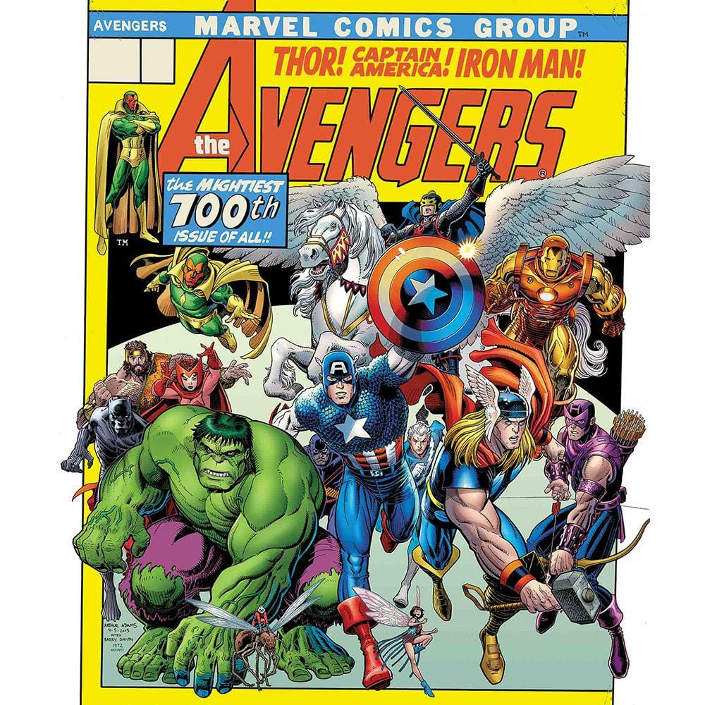 Avengers 500 Piece Puzzle | Marvel Comic Cover - - Aquarius - Yellow Octopus