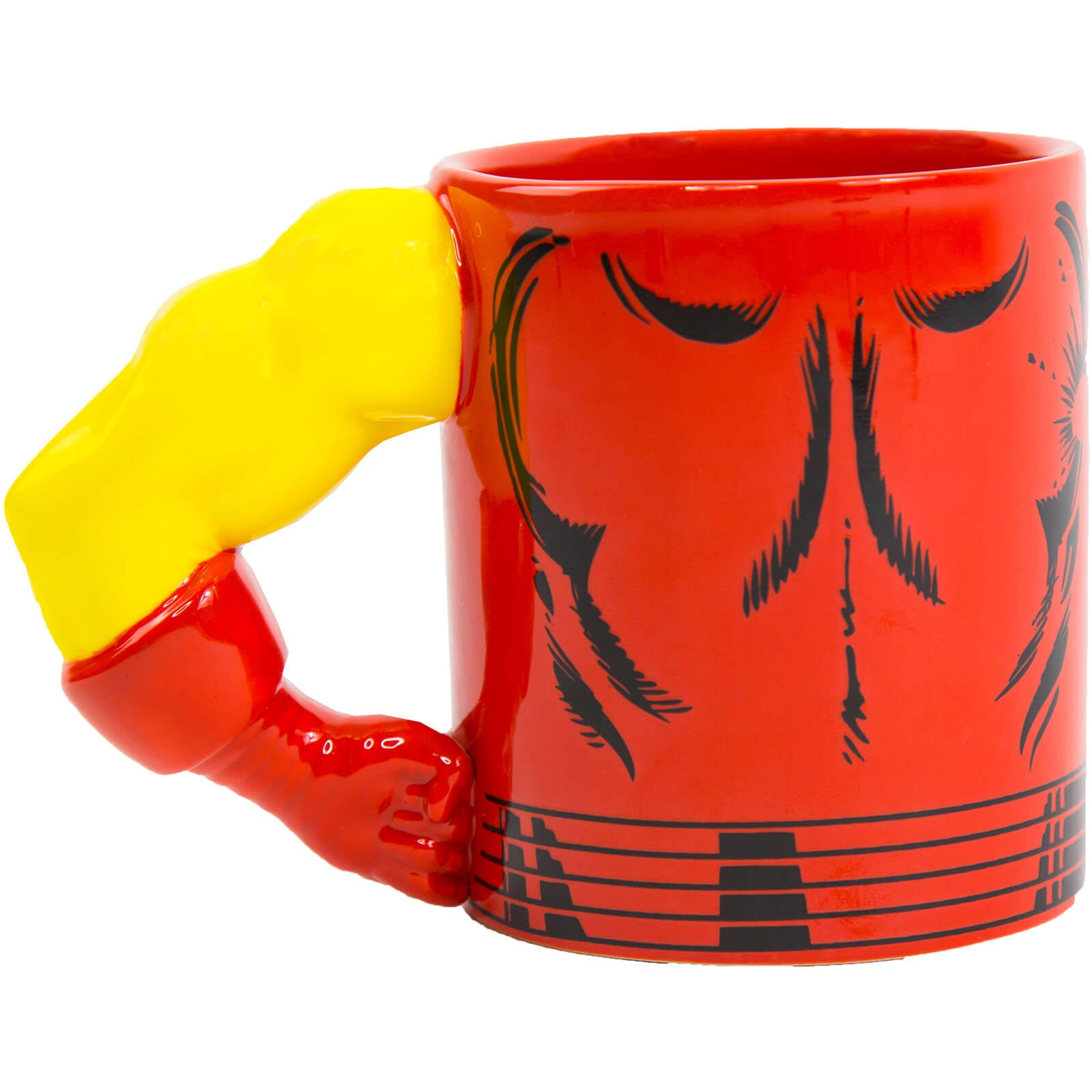 Iron Man Mug With Moulded Arm Handle