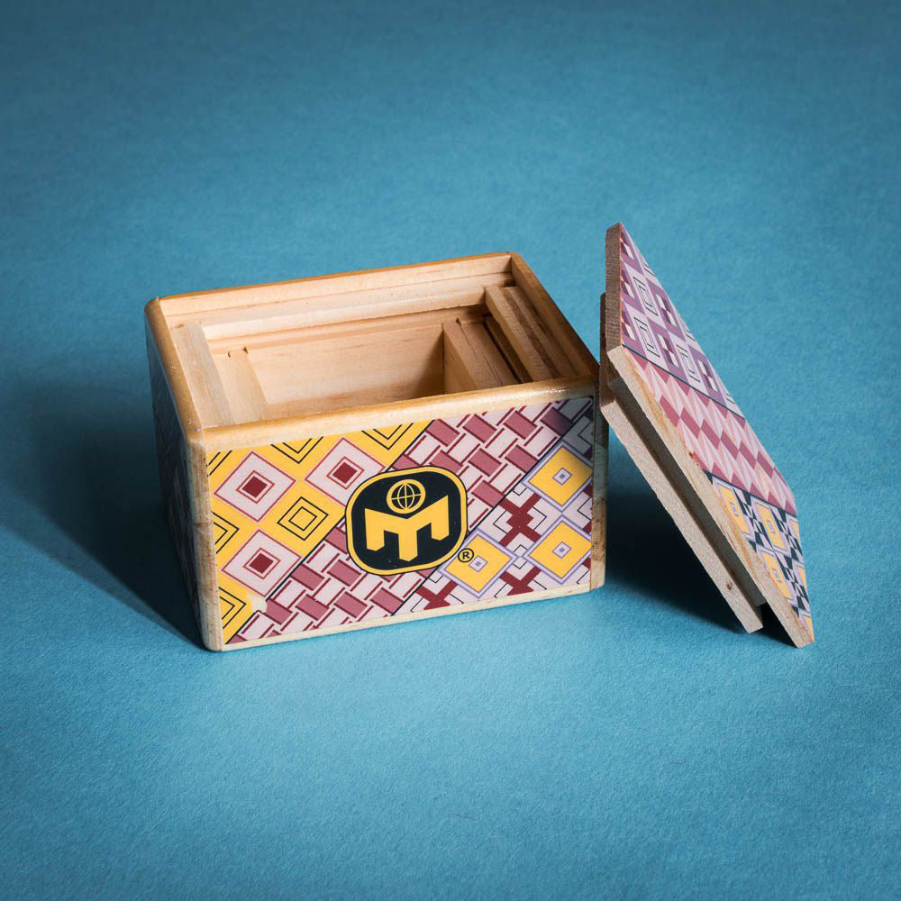 Mensa's Wooden Japanese Puzzle Box