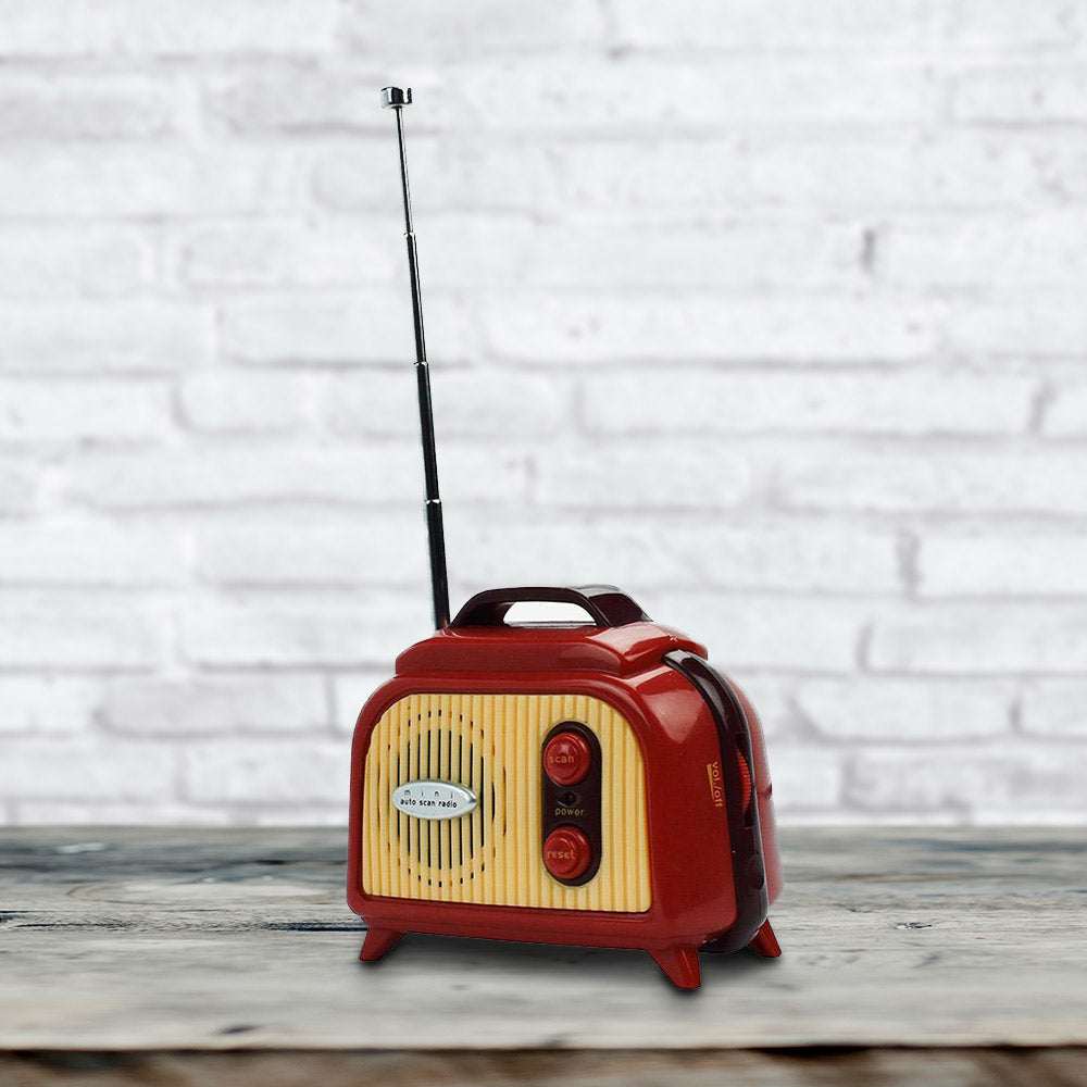 Retro Mini Portable FM Radio