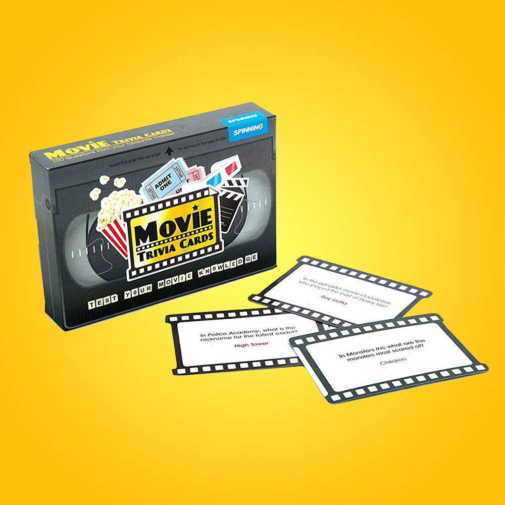 Movie Trivia Cards - 100 Questions!