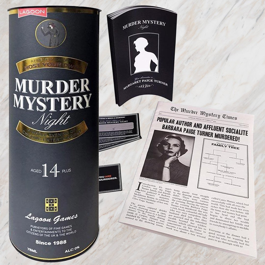 Host a Murder Mystery Party Game