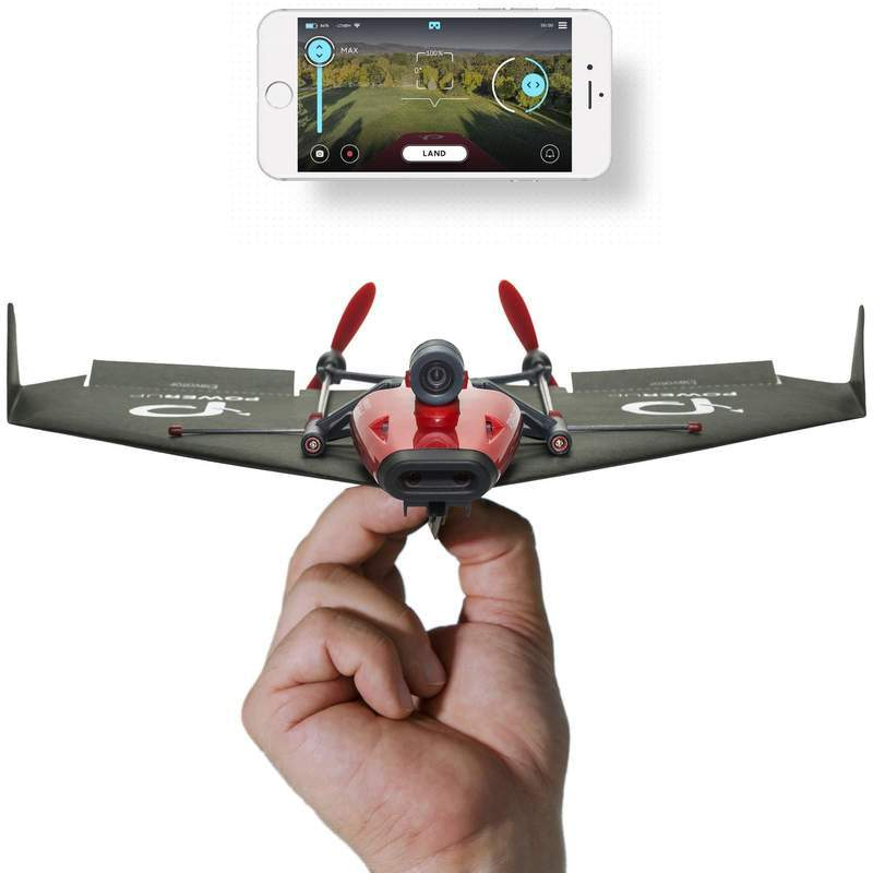 PowerUp FPV: Smartphone Controlled Live Streaming Paper Plane