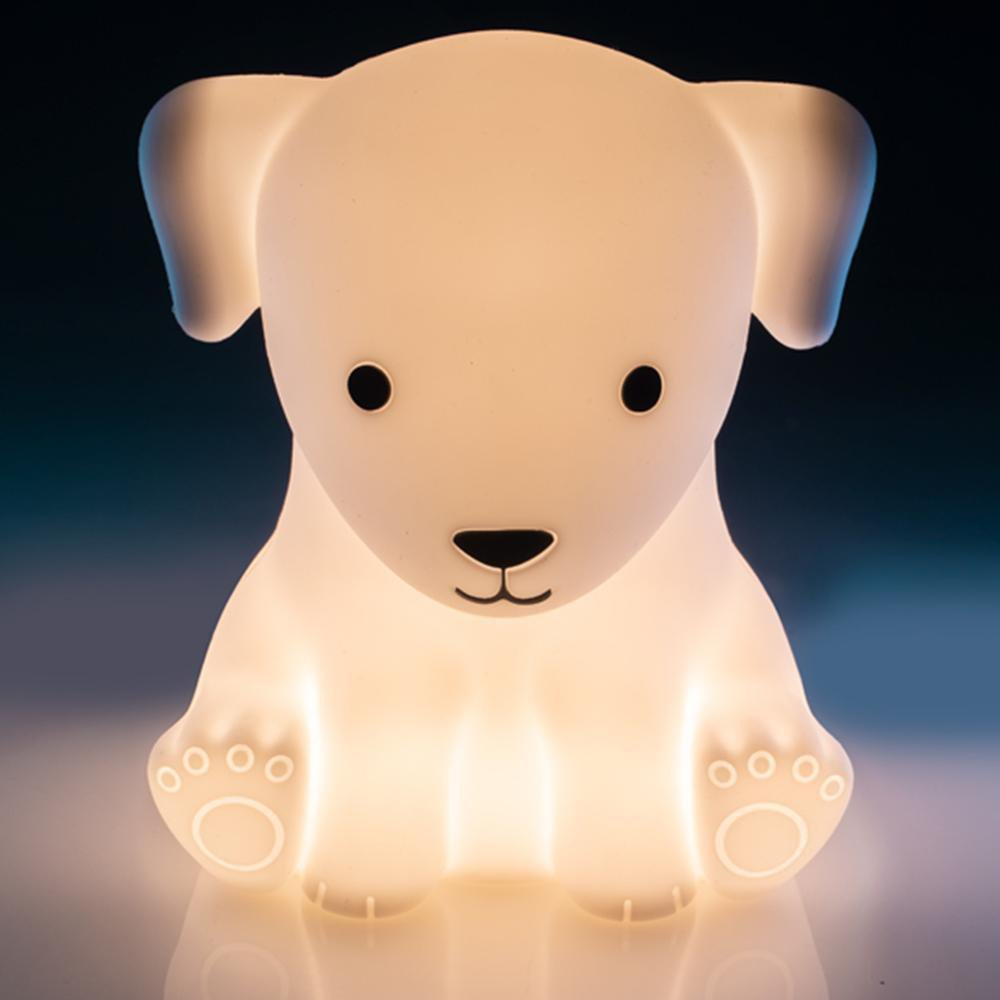 Puppy Touch-Sensitive Rechargeable LED Night Light - - mdi - Yellow Octopus