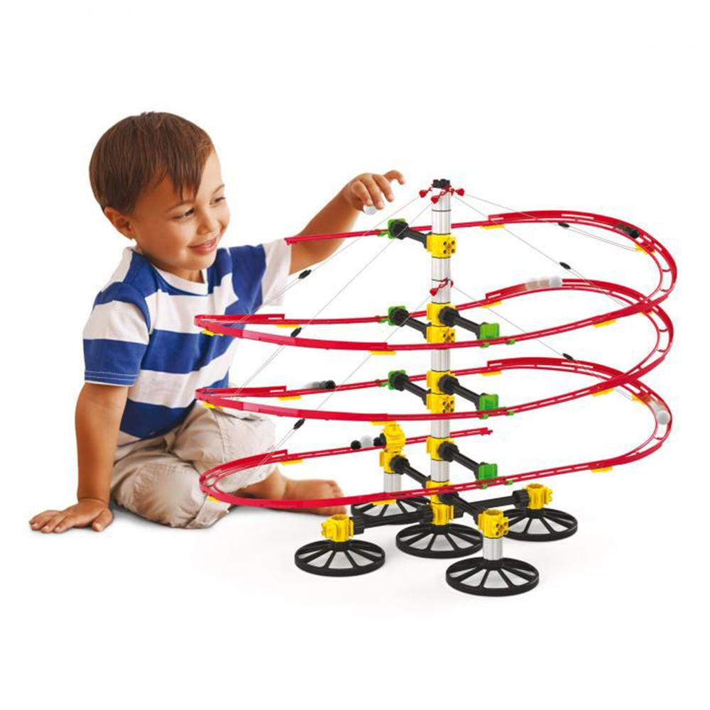 Skyrail Suspension Marble Rollercoaster 5m - - Queretti - Yellow Octopus