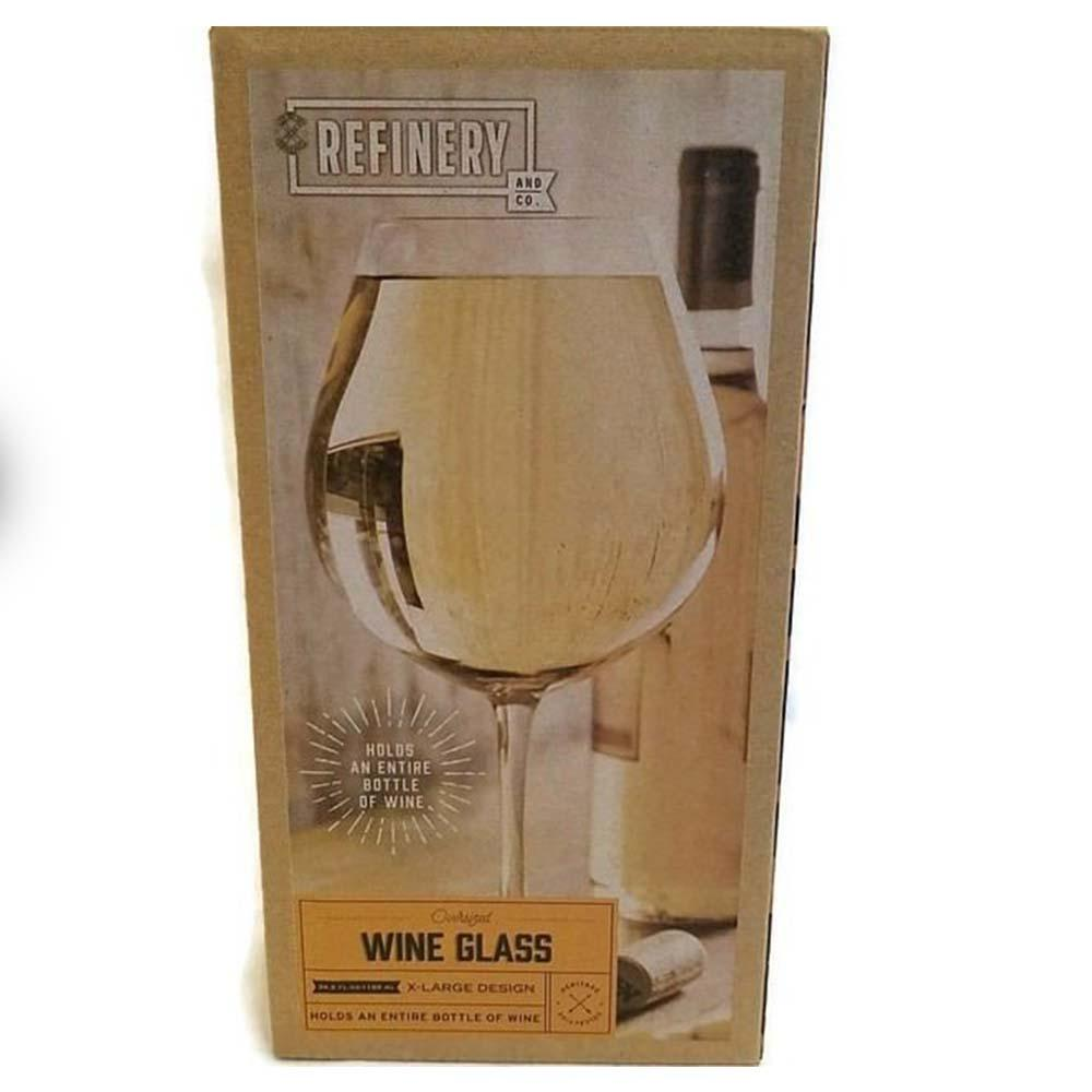Giant 40th Birthday Wine Glass-HOLDS ENTIRE BOTTLE OF WINE