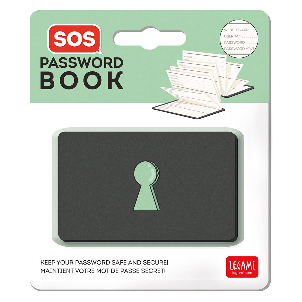 SOS Password Book