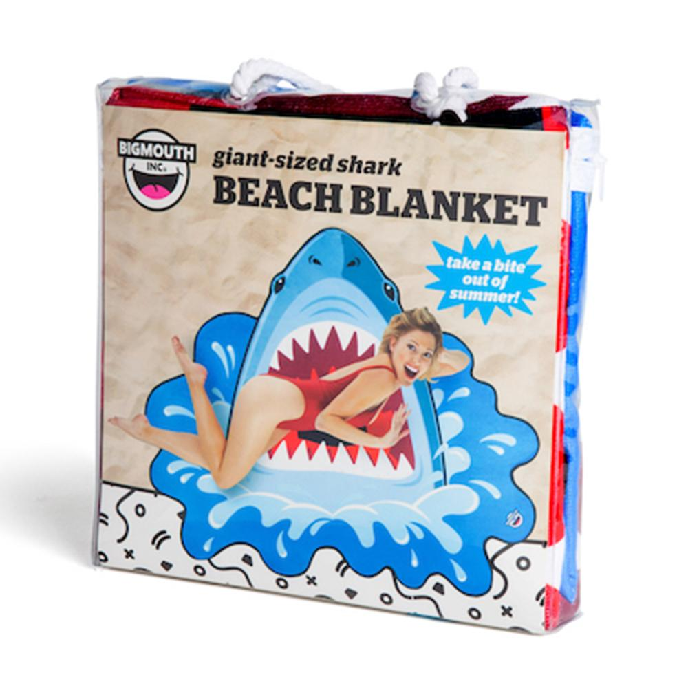 Shark Attack Beach Blanket 152cm - - Big Mouth Inc - Yellow Octopus