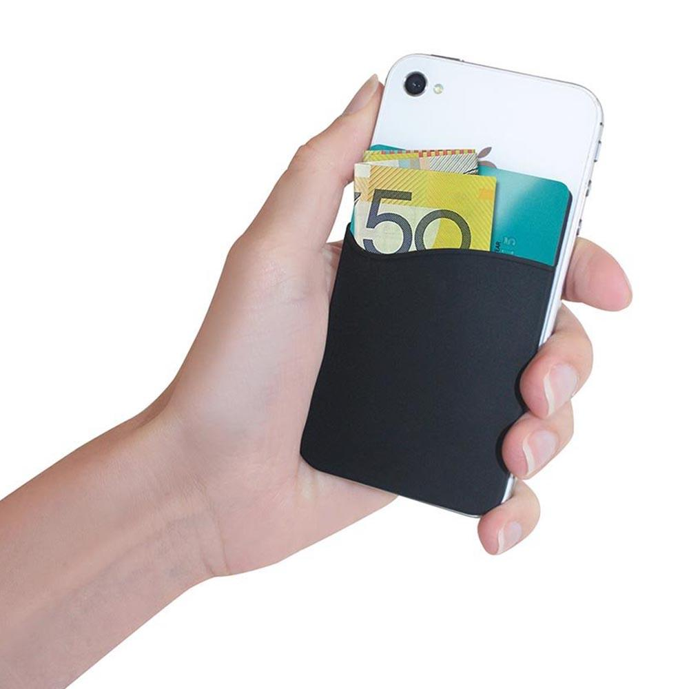 check out 2d26e 3abf7 Adhesive Silicone Smart Phone Wallet
