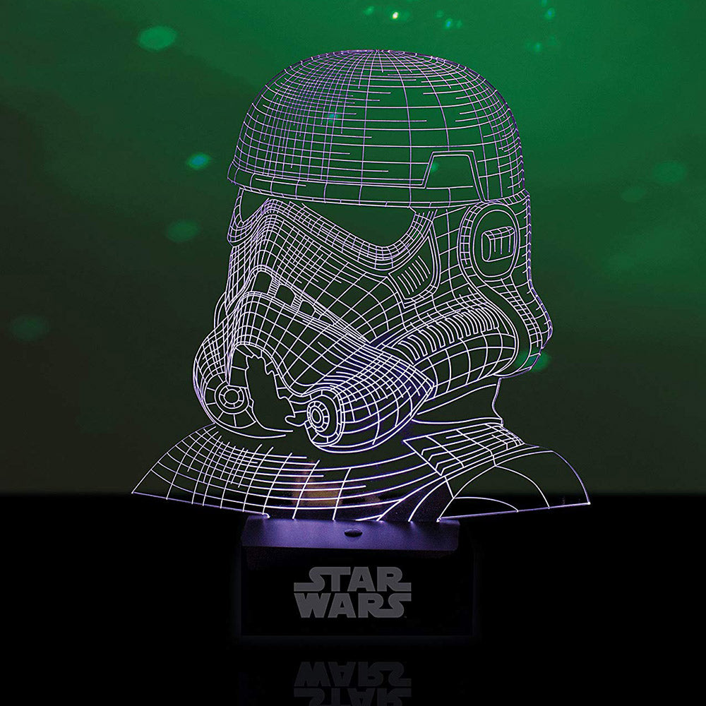 Star Wars Stormtrooper Laser Etched USB Lamp | Gifts for teenage boys | Beanstalk Mums
