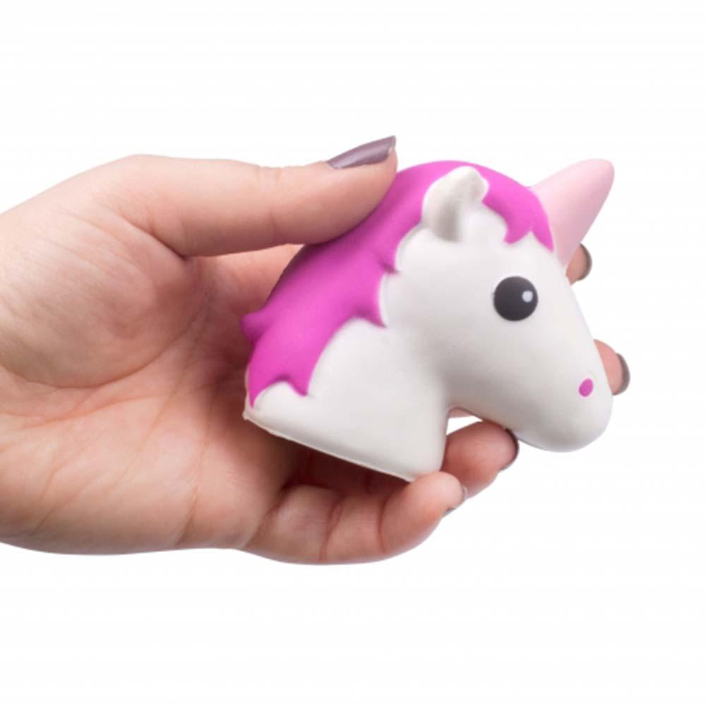 Unicorn Stress Ball - - ThumbsUp! - Yellow Octopus