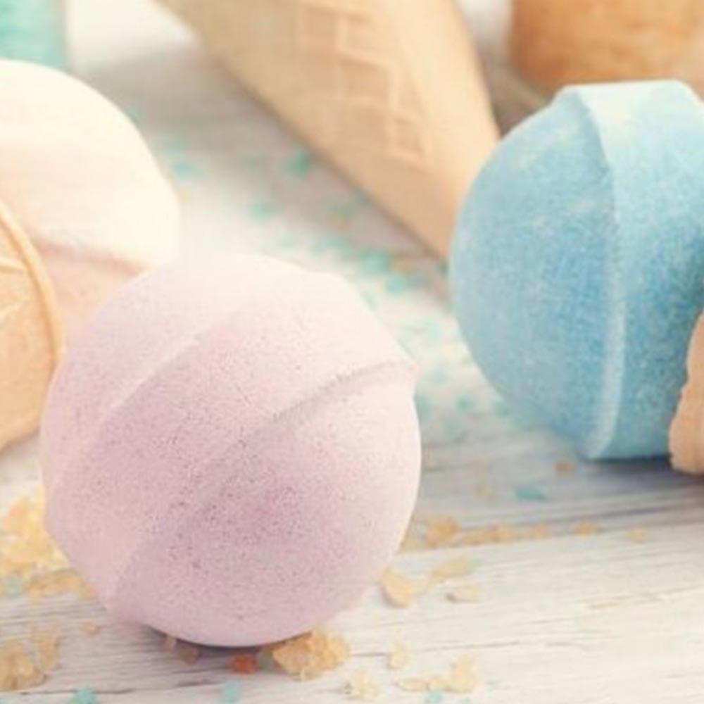 Make Your Own Tropicana Scented Bath Bombs - - Huckleberry - Yellow Octopus