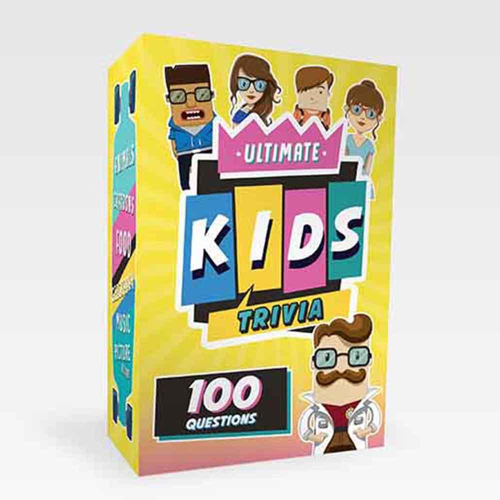 100 Ultimate Kids Trivia Questions - - Gift Republic - Yellow Octopus