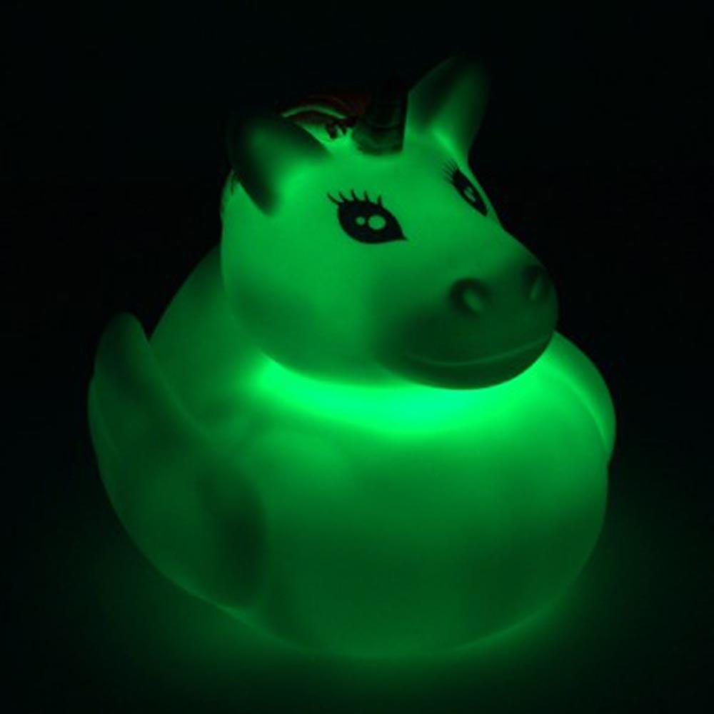 Light-Up Colour-Changing Unicorn Bath Duck