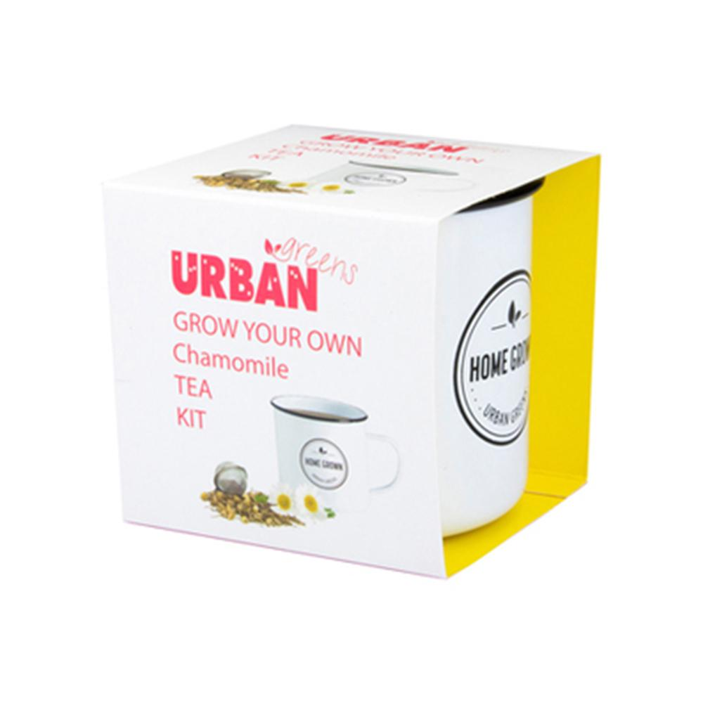 Grow Your Own Herbal Tea Kits | Urban Greens - Chamomile - Urban Greens - Yellow Octopus