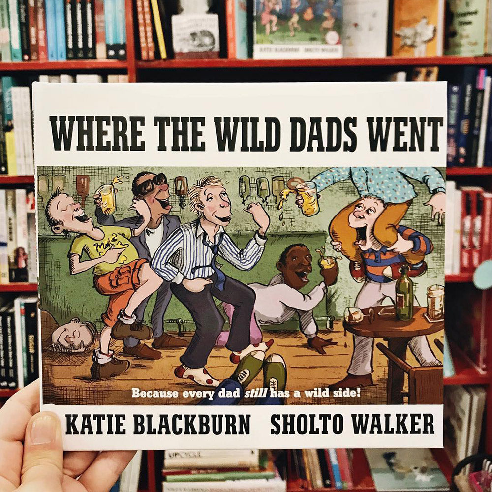 Where The Wild Dads Went Book