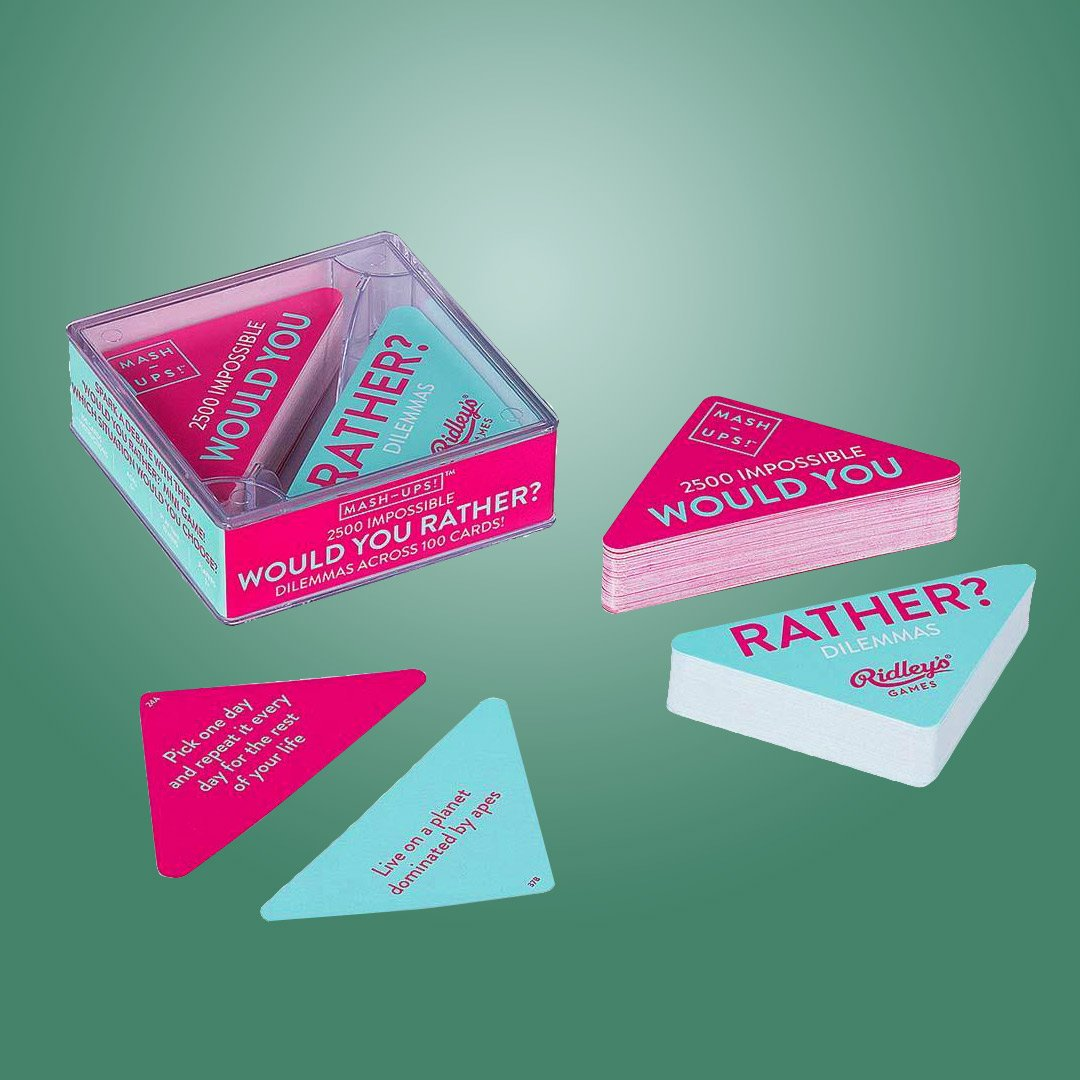 'Would You Rather?' Dilemmas Mashup Card Game