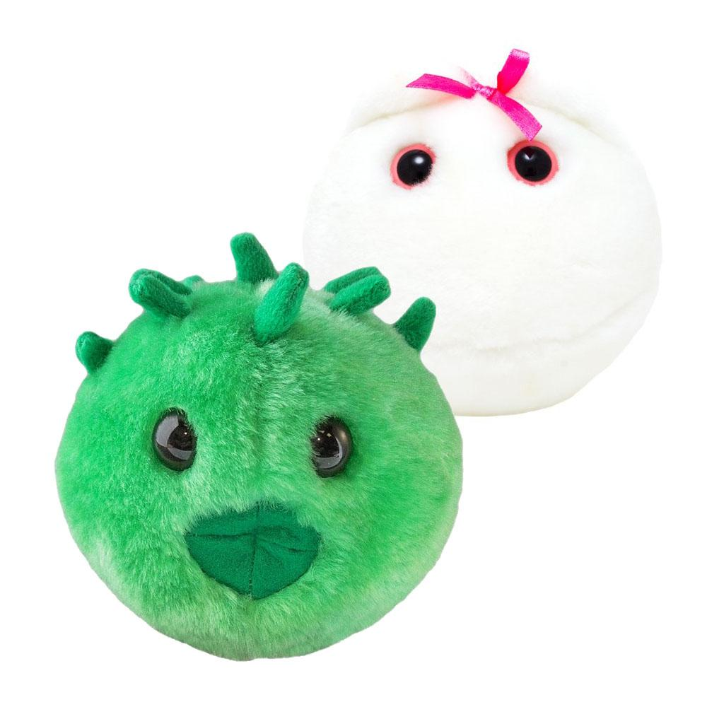 Giant Microbes & STDs Plush Toys