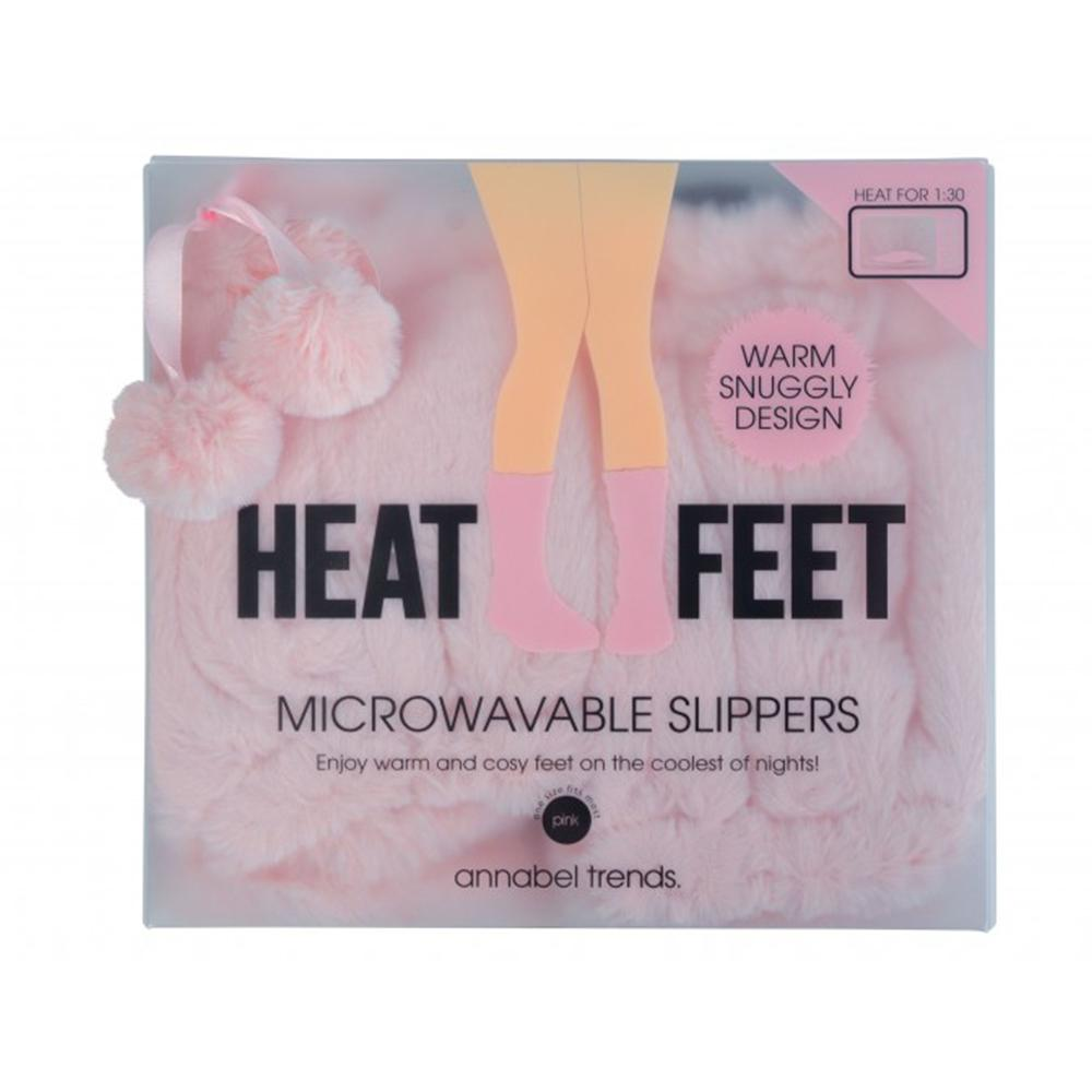 Heat Feet: Microwavable Slippers - Pink - Annabel Trends - Yellow Octopus