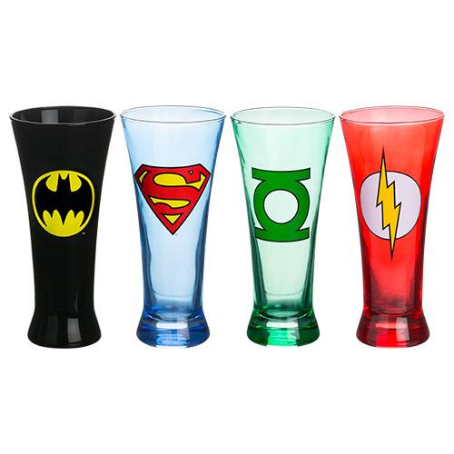 Justice League Superhero Glasses - - DC Comics - Yellow Octopus