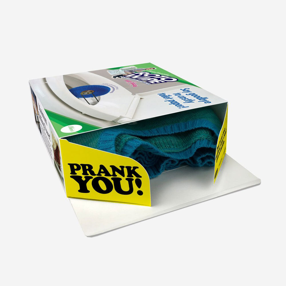 Prank Gift Box - Roto-Wipe Personal Cleaning Wheel