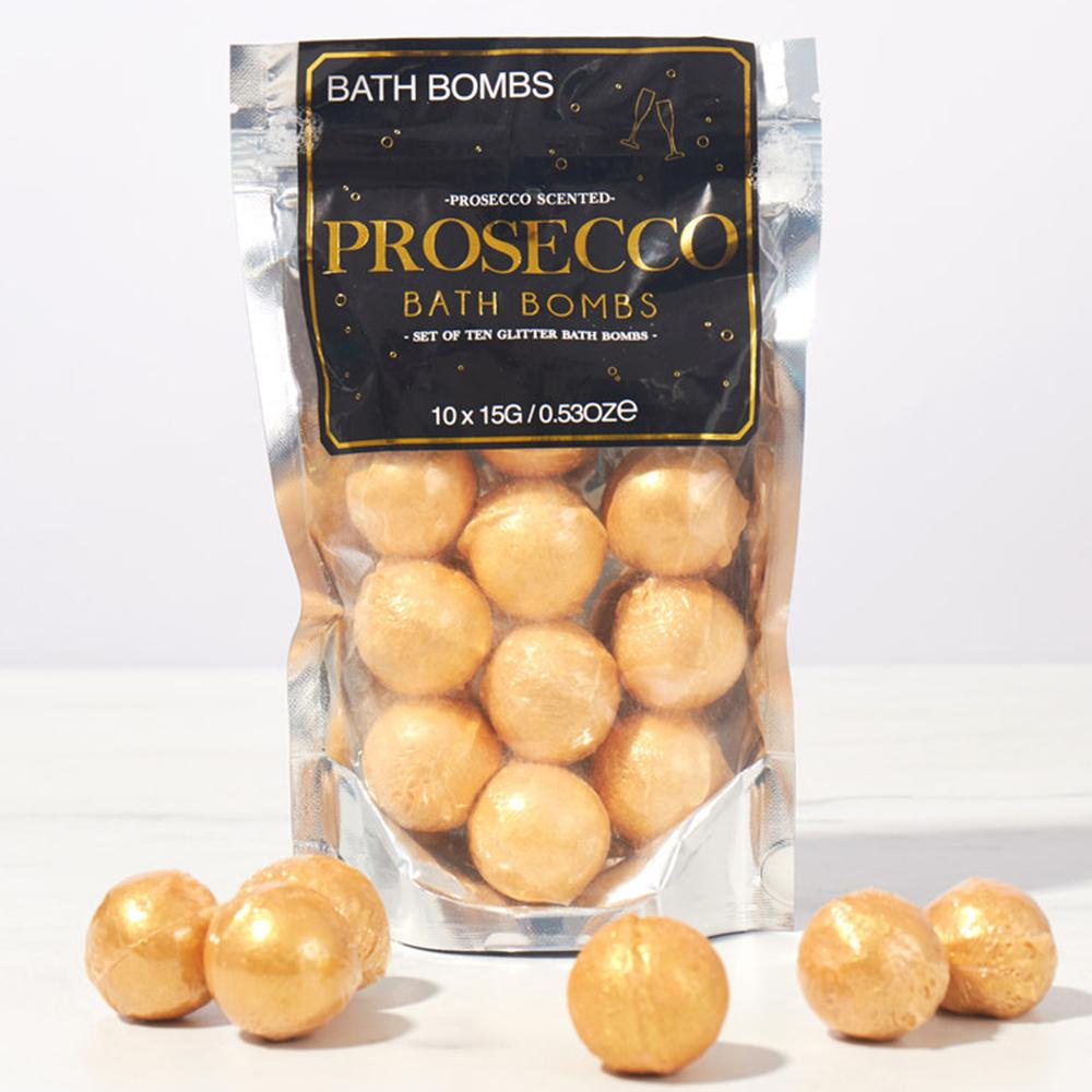 Prosecco Bath Bombs | Stay at Home Mum