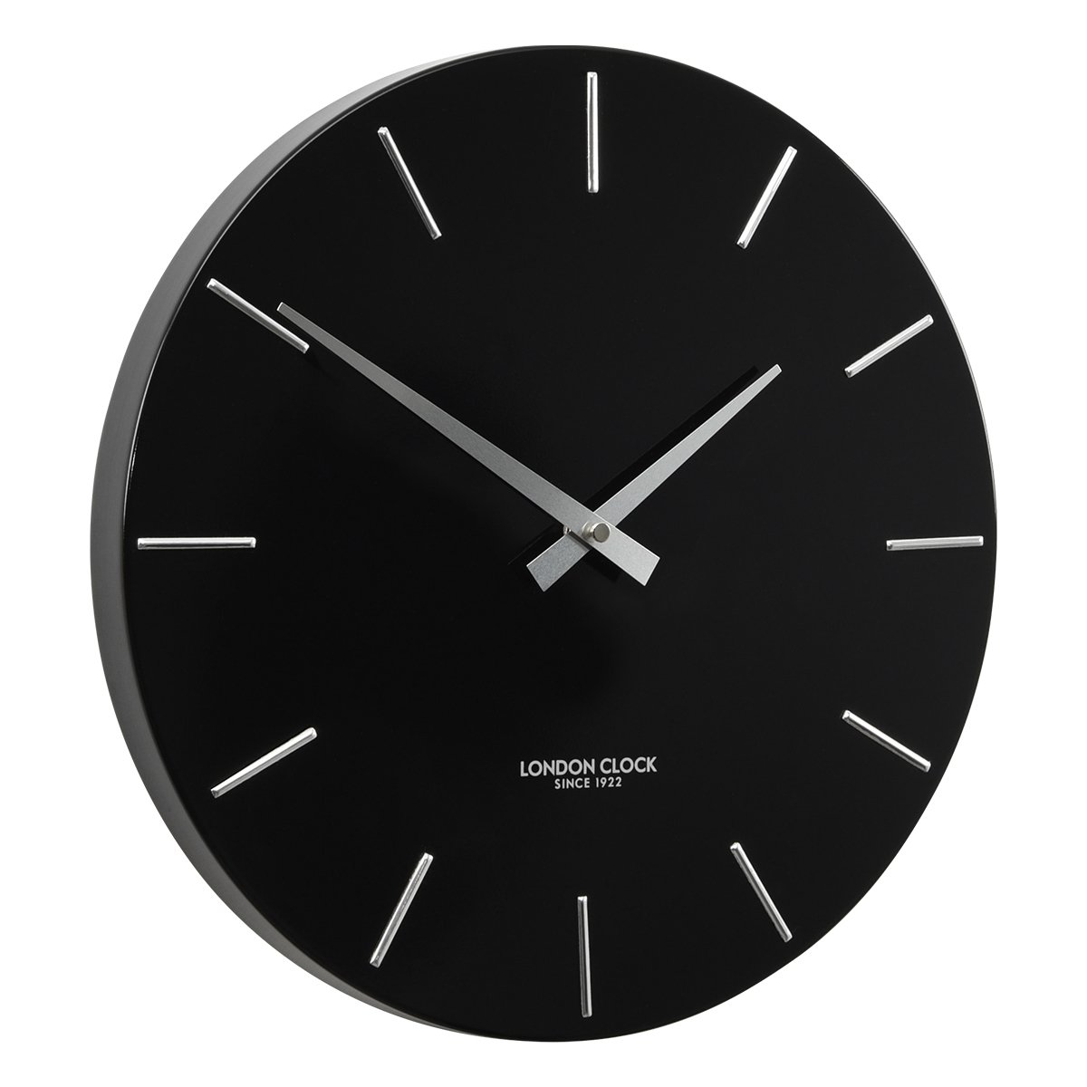 London Clock Thunder Metal Wall Clock 30cm