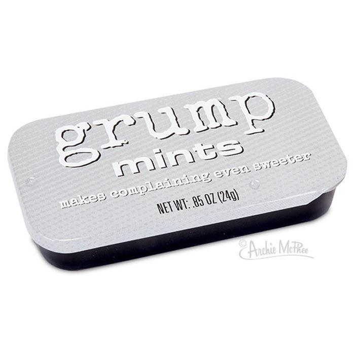 Mints For Grumpy People - - Accoutrements - Yellow Octopus