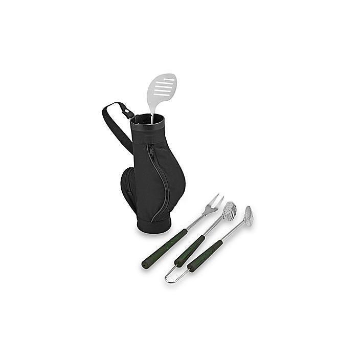 albi Set of 3 Golf BBQ Utensils & Carry Caddie