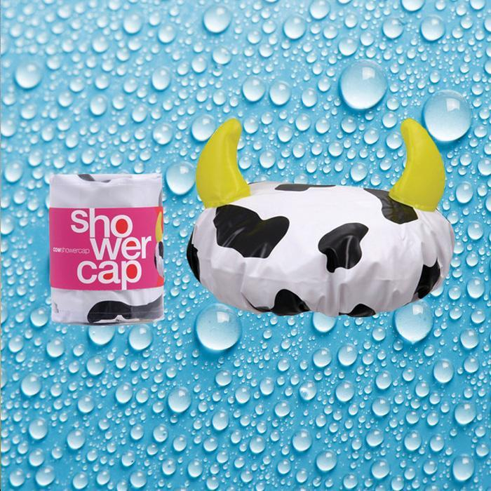 Annabel Trends Cow Shower Cap