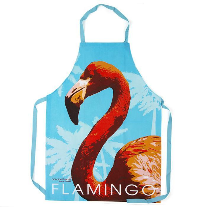 Flamingo Apron - - Annabel Trends - Yellow Octopus