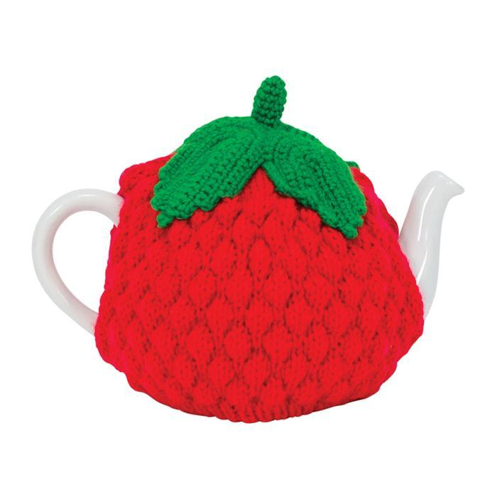 Strawberry Tea Cosy - - Annabel Trends - Yellow Octopus