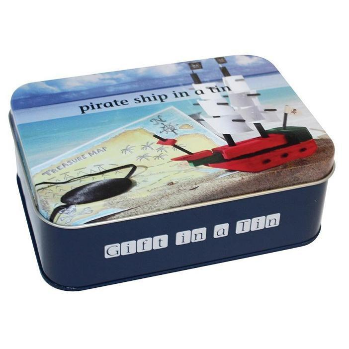 Apple To Pears Pirate Ship In A Tin