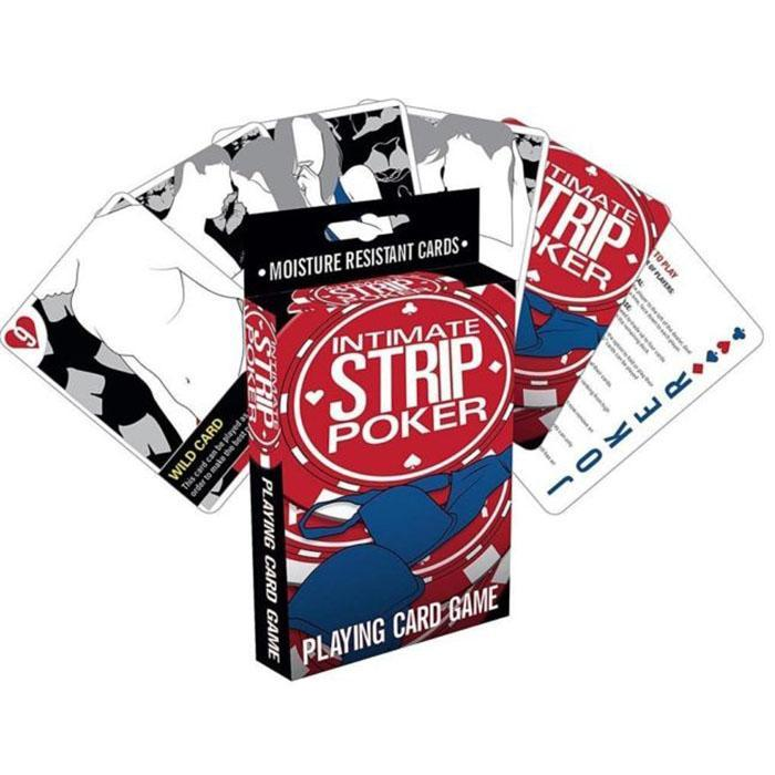 Intimate Strip Poker Playing Card Game - - Aquarius - Yellow Octopus