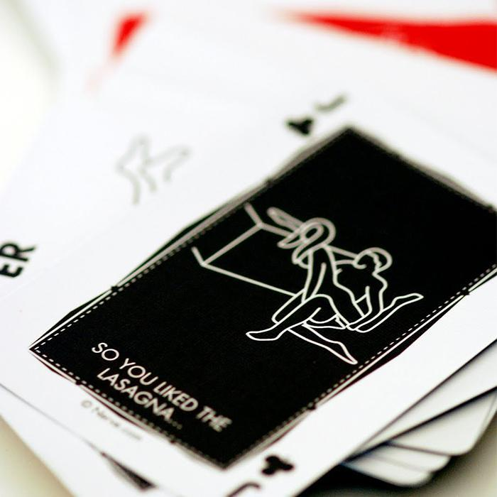 Official Poker-sized Position of the Day Playing Cards - - Aquarius - Yellow Octopus